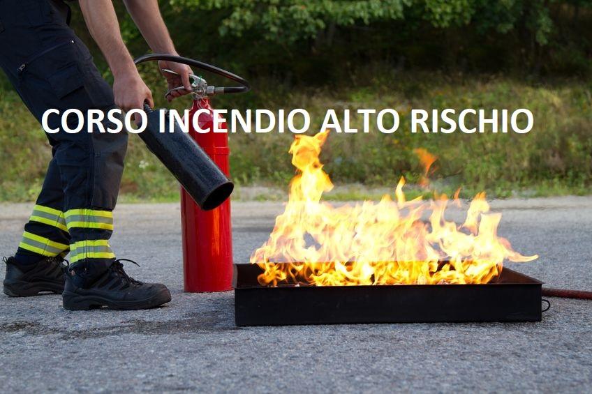 Corso per Addetti Antincendio Alto Rischio